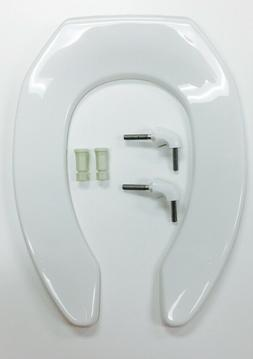 Bemis Commercial Plastic Open Front Toilet Seat with STA-TIT