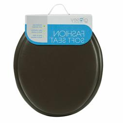 Ginsey 01516 Standard Attractive Soft Toilet Seat with Plast