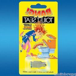 1 Exploding BANG TOILET SEAT Gimmick Joke Gag Magic Trick Pl