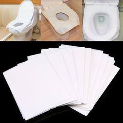 10-50pcs Disposable Toilet Seat Cover Mat Toilet Paper Pad F