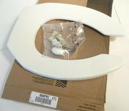 BEMIS 1955CT-000 Heavy Duty Plastic Toilet Seat  Check Hinge