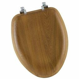 Mayfair Bemis 19601CP-378 Elongated Veneer Toilet Seat