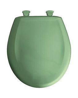 Bemis 200SLOWT 025 Round Closed Front Toilet Seat, Jade