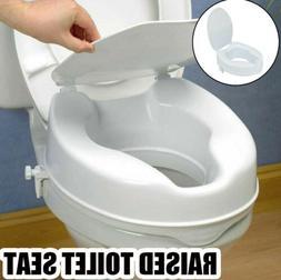 4 inch Medical Raised Toilet Seat  Enlogated Toilets Elderly