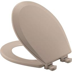 Bemis 500EC068 Molded Wood Round Toilet Seat With Easy Clean