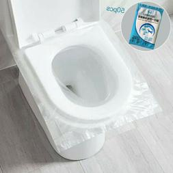 100/50pc Pack Disposable Toilet Seat Covers Paper Travel Bio