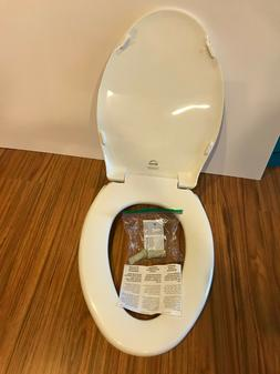Bemis 7800TDG 000 Elongated Closed Front Toilet Seat with Co