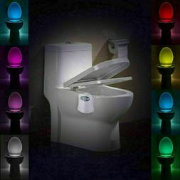 8-Led Toilet Seat Light Night Motion Active Auto Sensor Bath