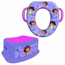 Nickelodeon Dora The Explorer Potty Training Combo Kit - Con
