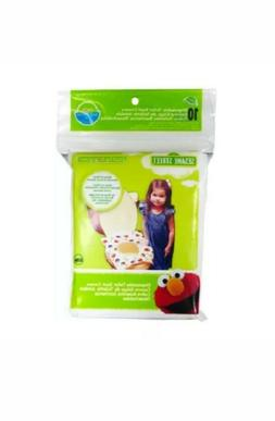 Sesame Street Potty Topper Disposable Stick-in-Place Toilet