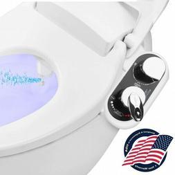 Bathroom Bidet Attachment - Hot/Cold Water Toilet Seat Bidet