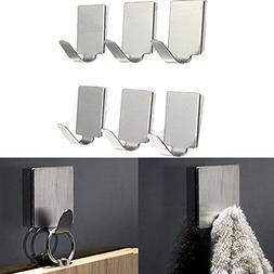 Bathroom Storage & Organisation - 6pcs Rect Stainless Steel