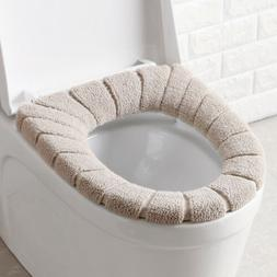 Bathroom Toilet Seat Warmer Cover Comfortable Warm Keeper Cl