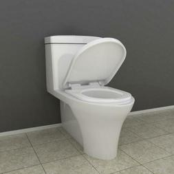 Bathroom WC Toilet Seat Amp Cover in White With Soft Close H