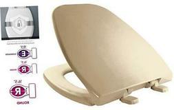 BEMIS 1240200 346 Eljer Emblem Plastic Toilet Seat, ROUND,