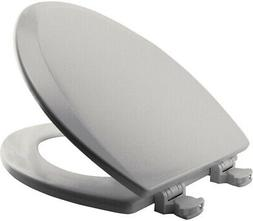 Bemis 1500EC 062 Wood Elongated Toilet Seat With Easy Clean