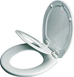 BEMIS MFG. CO. NextStep  Child/Adult Toilet Seat, Whisper-Cl