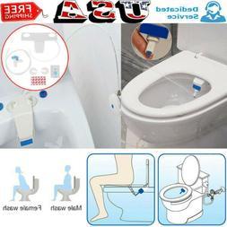 Bidet Toilet Fresh Water Spray Clean Seat Non-Electric Kit A