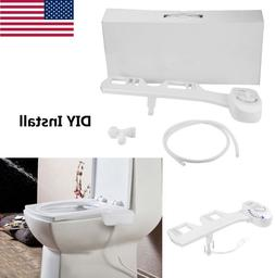 Bidet Toilet Seat Attachment Non-Electric Mechanical Fresh W