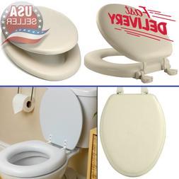 Bone Soft Padded Toilet Seat Premium Cushioned Elongated Cov