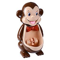 Boys Cute Monkey Potty Training Urinal with Funny Aiming Tar