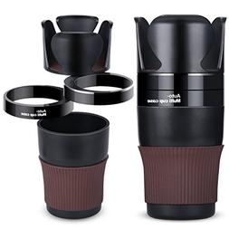 AISITIN Car Cup Holder, 5 in 1 Multi-Functional Holds Mugs O