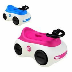 Car-Shape Potty Training Seat Toddlers Toilet  Detachable No