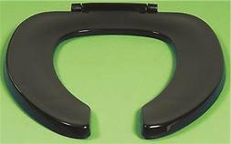 CENTOCO PLASTIC OPEN FRONT ELONGATED TOILET SEAT LESS COVER