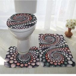 Colorful Bathroom Rugs <font><b>3</b></font> pcs/set Closest