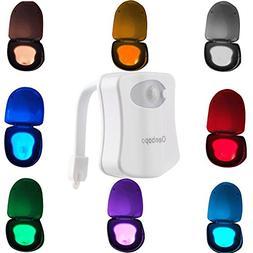 Colorful Motion Sensor Toilet Nightlight ,Oenbopo Home Toi