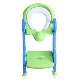 Cushioned Potty Ladder Training Seat, Children's toilet seat