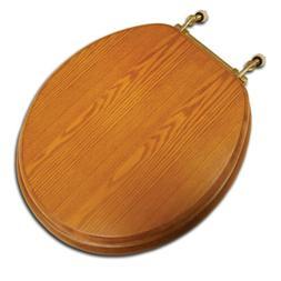 decorative wood seat light oak finish brass