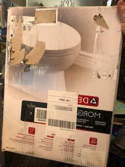 Delta Morgan Elongated Bathroom Toilet Seat Slow-Close Non-s