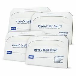 Paper Toilet Seat Covers - Disposable - Half-Fold Toilet Sea