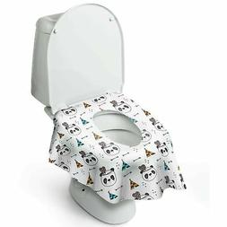Disposable Toilet Seat Cover for Potty Training Toddler Kids