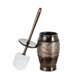 dublin decorative toilet cleaning bowl brush with holder