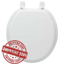 Project Source Durable White Wood High-Gloss Finish Round To