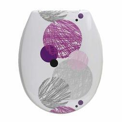 Evideco Duroplast Oval Toilet Seat Valentine