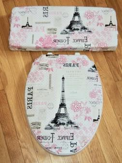 Eiffel Tower France Paris Chic Bathroom Decor Toilet Seat &
