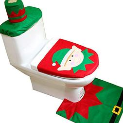 elf christmas toilet seat cover