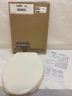 American Standard Elongated Open Front Plastic Toilet Seat 5