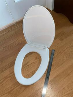 Elongated SoftClose Toilet Seat - Finish: Cotton
