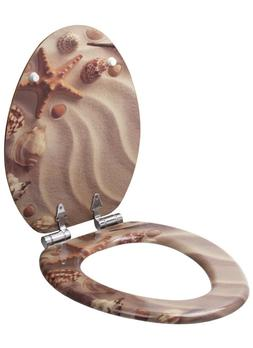 Sanilo Elongated Toilet Seat, Wide Choice of Slow Close Toil