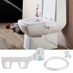 Fresh Water Spray Non-Electric Mechanical Bidet Toilet Seat