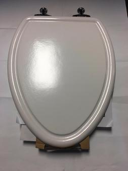 From American Standard: Traditional Toilet Seat, Chrome Hing