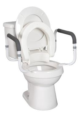 hinged toilet seat
