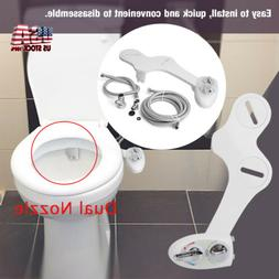 Hot/Cold Bidet Water Spray Bidet Toilet Seat Attachment Non-