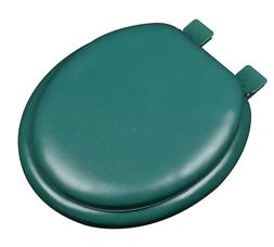 Hunter Green Soft Padded Cushion Toilet Seat Round Standard