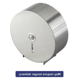 Bobrick Jumbo Toilet Tissue Dispenser, Stainless Steel, 10.6