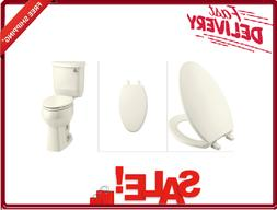 KOHLER K-4774-96 Brevia Elongated Toilet Seat with Quick-Rel